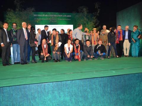 Balipara Foundation Award 2015